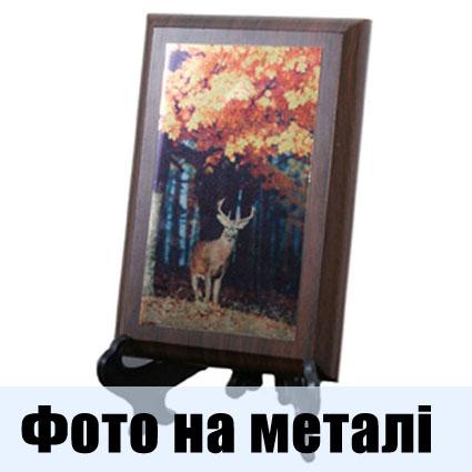 фото на металі